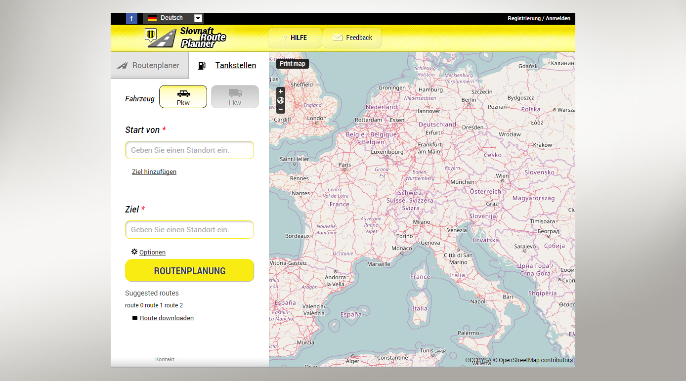 Route planner website launched