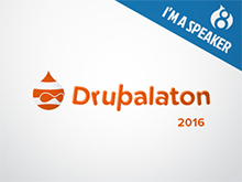 2016 – Presentation at Drupalaton 2016