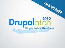 2012 - Presentation at Drupalaton